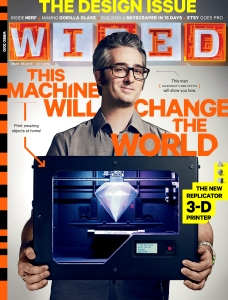 Wired magazine's October 20,2012 issue